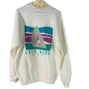 Vintage Crazy Shirt Club Kihei Maui Sweatshirt